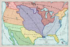 Imaginary Maps, Second Empire, Alternate History, Continents, Genealogy, North America, Sci Fi, Fantasy, American