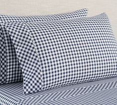 Shop gingham sheets from Pottery Barn. Our furniture, home decor and accessories collections feature gingham sheets in quality materials and classic styles. Percale Sheets, Linen Sheets, Bed Sheets, Organic Cotton Sheets, Cotton Sheet Sets, Cotton Bedding, Linen Bedding, Bed Linens, Gingham Check