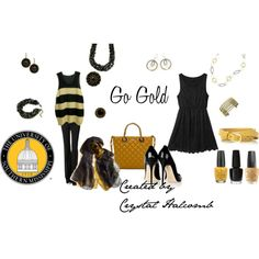 """Or GA Tech - """"Go Gold With Premier Designs"""" by crystal-g-halcomb on Polyvore"""