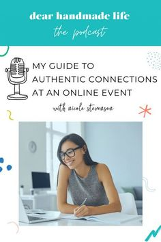 With our Camp Dear Handmade Life around the corner, I wanted to share some tips for you to make meaningful connections at virtual events, in the online space and even at in-person events. Creative Business, Business Tips, Awkward Moments, Proud Of You, Letting Go, Feel Good, How To Find Out, Connection, How Are You Feeling
