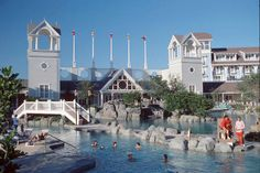 Swim in Stormalong Bay at Disney's Beach Club Resort