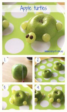 Apple turtles