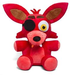 PLUSZAK MASKOTKA MIŚ FIVE NIGHTS AT FREDDY'S FOXY