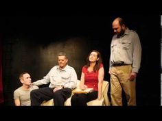 Scene 8. Video from the theatre production of WHERE ART LIVES. March 2015. NYC.