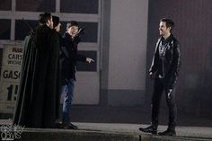 """sean, Lana, Colin O'Donoghue and Jared - 6 * 11 """"Tougher than the rest"""" - Behind the scenes - 2 November 2016"""