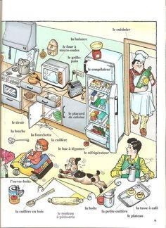 Vocabulaire : la cuisine