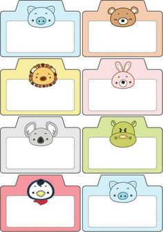 Preschool Cute Name Badges - Preschool Children Akctivitiys Kids Sunday School Lessons, Kids Background, Origami Templates, Cartoon Clip, School Labels, Cute Names, Handmade Gift Tags, Smart Art, Name Badges