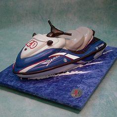 Jet Ski Cake