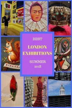Best London Exhibitions Summer 2018