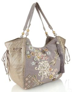 Dragonfly Shoulder Bag | Grey | Accessorize