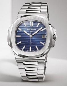 5454b945fde The Platinum Patek Philippe 5711  1P Nautilus 40th Anniversary Replica  Watch Patek Philippe Sportsure