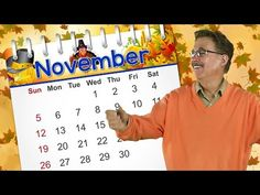 This November calendar song teaches about the month of November. Sing along and learn that November is the month of the year, how to spell November, Nov. Kindergarten Songs, Preschool Songs, Kids Songs, Preschool Learning, Preschool Ideas, Calendar Songs, Calendar Time, Months Song, Months In A Year