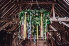 Celebrating Diversity, Natural Beauty and a Gorgeous Floral Wedding Dress Ribbon Chandelier, Floral Chandelier, Wedding Flowers, Wedding Dresses, Floral Wedding, Dresses Uk, Plant Hanger, I Dress, Wind Chimes