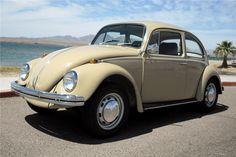 1968 VOLKSWAGEN BEETLE SEDAN - Barrett-Jackson Auction Company - World's Greatest Collector Car Auctions