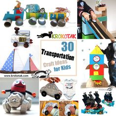 transportation kids craft