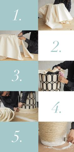 Passo a passo para customizar o cesto de roupa Diy Décoration, Easy Diy, Diy Bedroom Decor, Diy Home Decor, Home Crafts, Diy And Crafts, Do It Yourself Decoration, Diys, Diy Casa