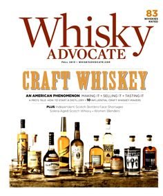 2014 Drammie Award Winner | Best Whiskey Information Source - Whisky Advocate Magazine ForWhiskeyLovers.com