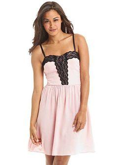 Cherie Button-Front Dress