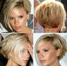 Image result for victoria beckham inverted bob