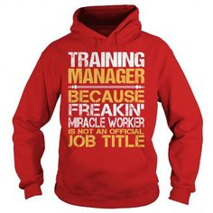 Awesome Tee For Training Manager T Shirts, Hoodie Sweatshirts