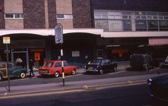 New shops on Fulwood Road, The Broomhill Study, Sheffield, May Sheffield City, Sheffield England, Sheffield Wednesday, 1970s, Memories, Family History, Shops, Study, Colour