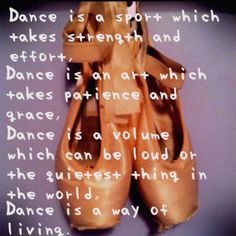 Dance quote :)it also makes you feel free out on that dance floor  it never…