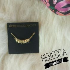 "{Rebecca Minkoff } N.W.T Gold Necklace. N.W.T ""Rebecca Minkoff"" Gold Necklace. BRAND NEW WITH TAGS. NEVER WORN. Perfect Condition.   Please Ask Questions Before Purchasing  ALL SALES ARE FINAL   NO TRADES NO PAYPAL NO HOLDS NO LOW BALL OFFERS Rebecca Minkoff Jewelry Necklaces"