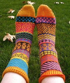 I have these - bought them at Powell's Books in Portland! Ravelry: KnittingSuzanne's Suzanne's Bazaar Socks