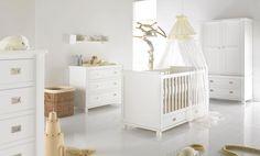 Babyzimmer Shakery in soft white von Kidsmill