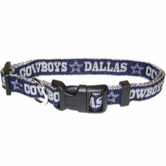"""-""""Dallas Cowboys NFL Dog Collars"""" - BD Luxe Dogs & Supplies"""