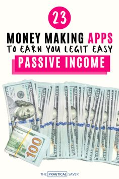 16 Easiest, Best Money Making Apps Right Now Ways To Save Money, Make More Money, Make Money From Home, Extra Money, Make Money Online, Saving Money Quotes, Money Saving Challenge, Money Saving Tips, Money Tips