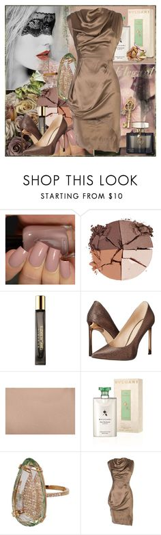 """The Living and The Dead..."" by chechetta ❤ liked on Polyvore featuring lilah b., Elizabeth and James, Nine West, Bulgari, Suzanne Kalan, Vivienne Westwood and Gucci"