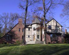 Stone Tudor House great exterior update of tudor home.   e x t e r i o r s