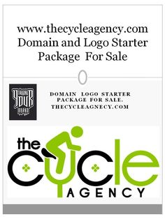 Domain and Logo for Sale - www.thecycleagency.com