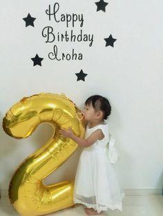 10月5日。娘2歳になりました☺︎ お祝いのメッセージやリンクなど皆さん本当にありがとうございます♡