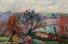 """""""View Of Crozant,""""Armand Guillaumin, 1900"""
