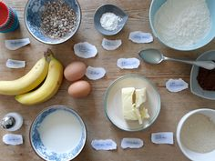 Schokoladen-Bananen-Muffins #Rezept #omnomnom #nomnom