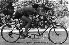 """Sheldon Brown,  """"The second tandem I built , in the late '60's."""""""
