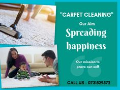 We #clean your #carpet in a #professional way. Our aim to spread happiness with our #quality_cleaning. Just place a call and get #professional_carpet_cleaning_services in few seconds.  Contact us --- 0731529572