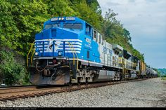 RailPictures.Net Photo: NS 4000 Norfolk Southern AC44C6M at Emsworth, Pennsylvania by Ron Urick Jr.