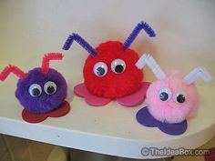 Love Bugs - Valentine's day kids crafts