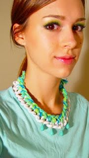Life as Leah: DIY: Braided Chain Necklace (REALLY AWESOME)