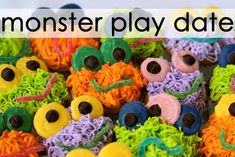 Monster Play Date, lots of adorable game ideas