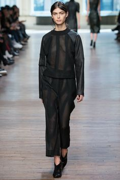 Yigal Azrouel | Fall 2014 Ready-to-Wear Collection | Style.com #nailedNYFW @Morgan Taylor Professional Nail Lacquer Professional Nail Lacquer