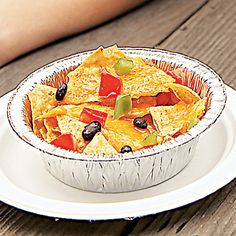 Fire-Roasted Nachos #CAMPING #recipe #kids