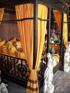 *Chinese Opium Den Bed - Tara Design