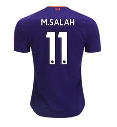 a74bfbf8a Mohamed Salah  11 Men s 2018-2019 Liverpool Away Football Shirt -â   Purple