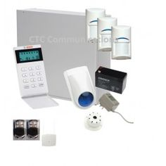 Bosch Solution 3000 Alarm System with 3 x Wireless Tritech detectors+ Icon Code…