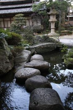 Japanese garden. by Ashley Necole Kiser