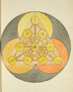 Manly Palmer Hall Collection of Alchemical Manuscripts. 1500-1825 (1600). / Sacred Geometry <3